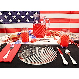 Stars n Stripes Place Setting